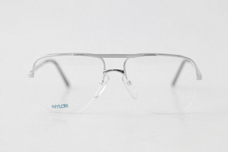 Vintage Rimless Eyeglasses 116