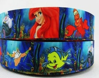"5 YDS Little Mermaid ""Under the Sea"" Ribbon"