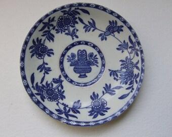 Blue &White delph  plate