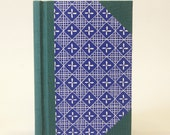The Scribe - Springback Journal Notebook - Lapis and Teal