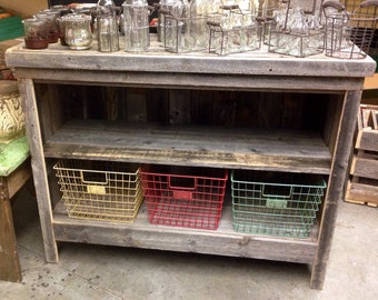 Locker basket console RestorationCrown Restoration Crown