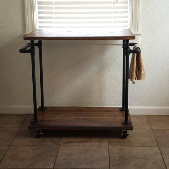 Industrial Kitchen Cart Bar Cart Serving By Maverickindustrial
