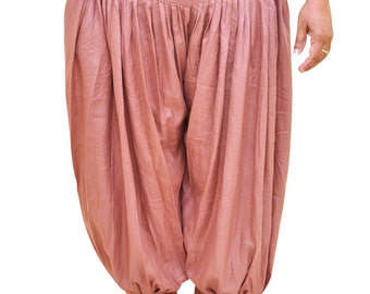 Womens Bamboo Kundalini Yoga Pants. Fall Winter Harem pants, Plus size.