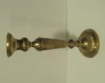 Brass Single Candelabra candle holder