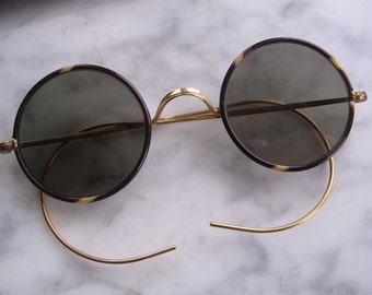 Vintage Sun Glasses Art Deco 1930 Originals - Made In England