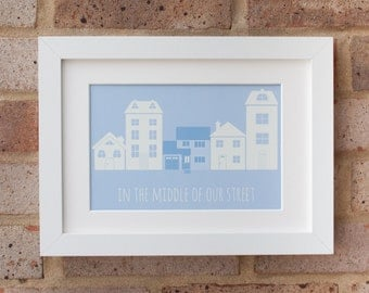 Our House- Gicleé Print