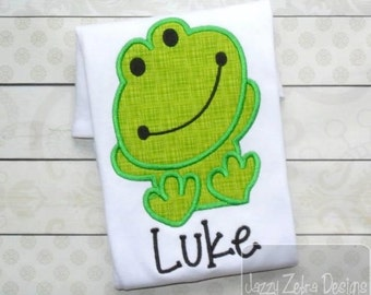 Frog Applique Designs