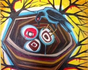 Nest Egg, Giclee Print