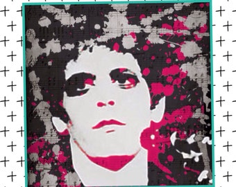 Lou Reed Wall Art