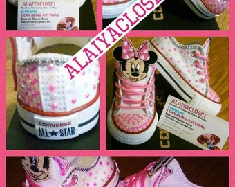 Infant Minnie Mouse Converse