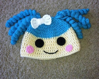 Lalaloopsy Doll Inspired Crocheted Hat