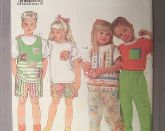 Children's Clothing Simplicity Pattern 9728
