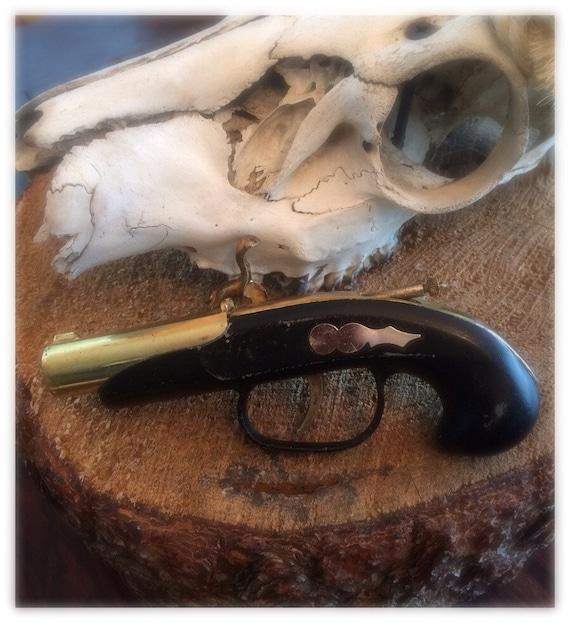 1960s Novelty Flintlock Pistol Lighter by shopvintageclectic