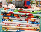 On the Move Fabric Bundle  - 12 Fat Eighth / Fat Quarter Cuts