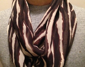 Browns and beige  Infinity Scarf sale