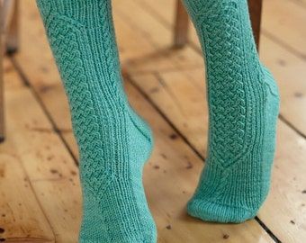 Chalcot sock pattern by Anita Grahn, instant download