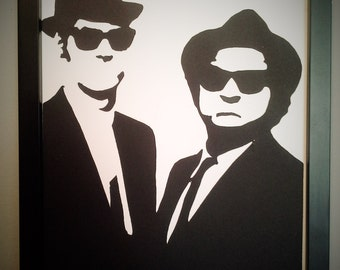 Blues Brothers wall art