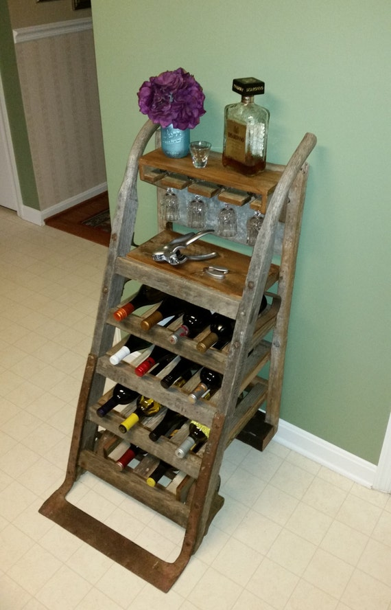 Items Similar To 25 Off Sale Wine Rack Repurposed From