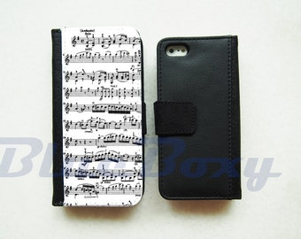 Music Note - iPhone X, iPhone 8, 8 Plus, iPhone 7, iPhone 6 Case, iPhone 6s, iPhone 6 Plus, 6s Plus, iPhone 5/5s, iPhone 4/4s, Flip Case