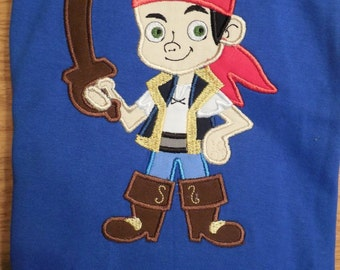 Jake and the Neverland Pirates Custom Disney Applique