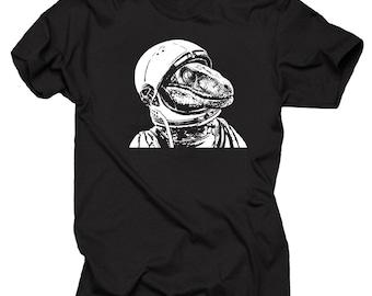 Space Dinosaur Velociraptor Astronaut Astroraptor Stylish Funny Unique  Spaceraptor T-shirt