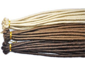 Dreadlock Extensions Twisted - 10 Pack