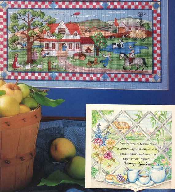 Counted cross stitch collector 39 s series homage to the for Country living magazine cross stitch