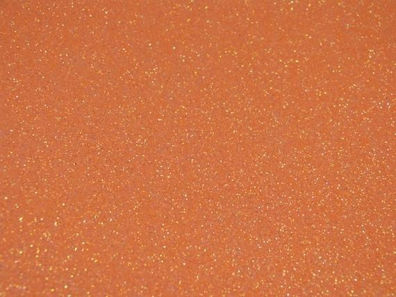 New Neon Orange Rainbow Glitter Heat Transfer Vinyl HTV