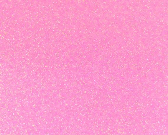 Items Similar To New Neon Pink Glitter Heat Transfer Vinyl