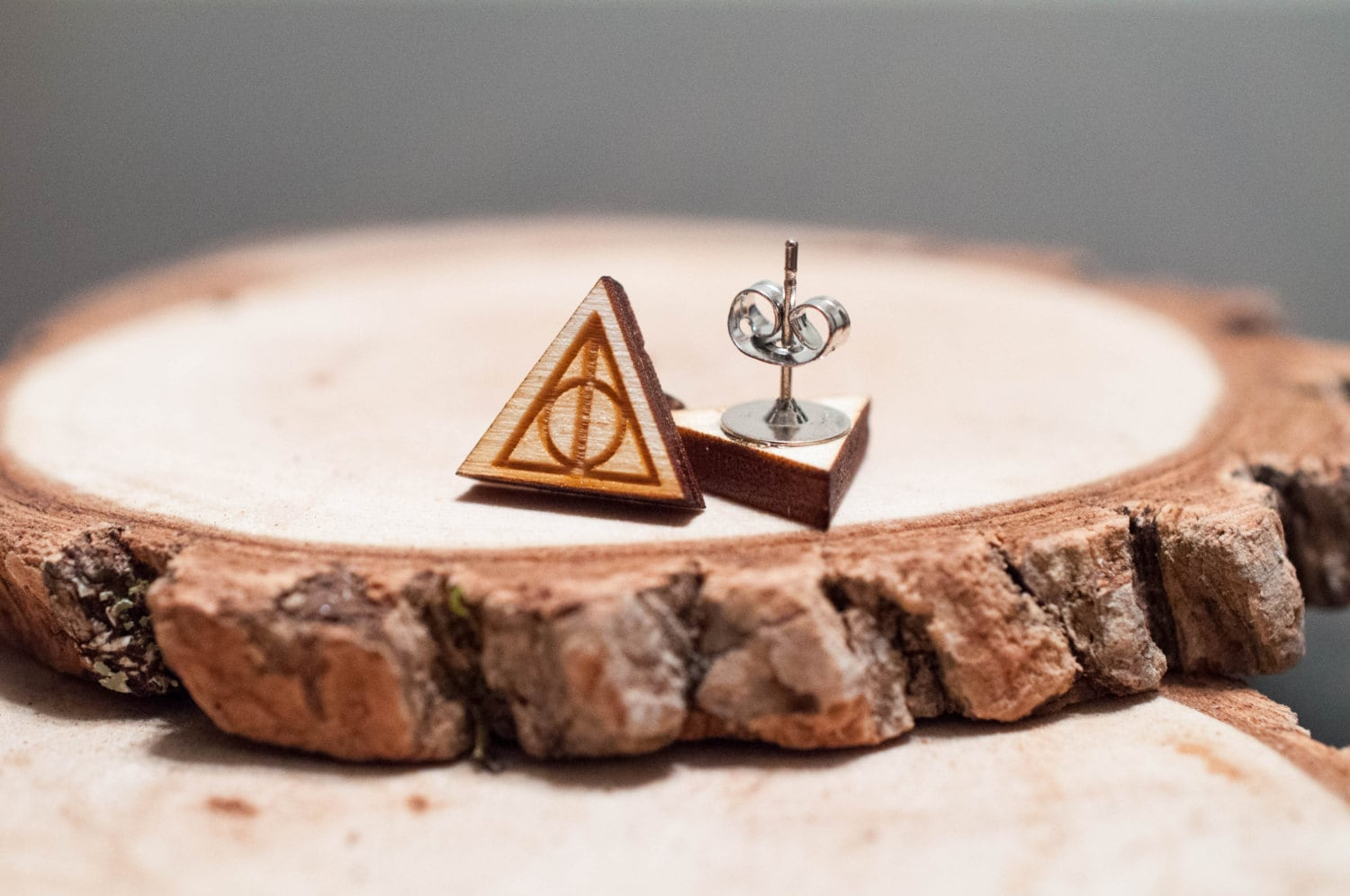 Laser-Cut Harry Potter Deathly Hallow's Earrings from SimplistiCreations