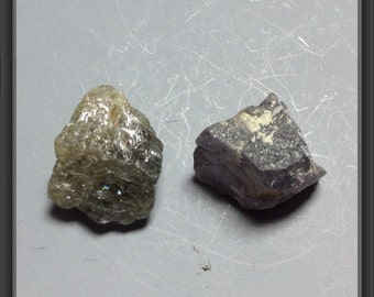 Sapphire- rough - 2 stones