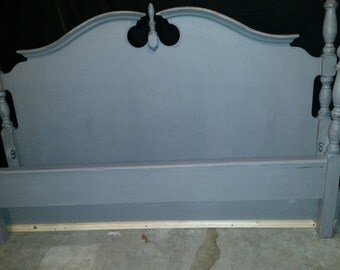 Distressed/shabby chic bed