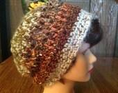 Crochet Slouchy Skater Hiphop Hippy Boho Beanie Dreadlocks Hat