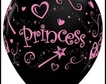 Black Princess Balloons Great Prices Quality and Service,Bridal Shower Balloons,Birthday Party Balloons,Sweet Sixteen Balloons,Princess