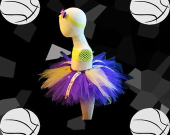LA Lakers Basketball Charmed Tutu