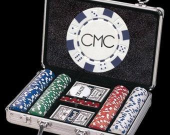 200 Custom Poker Chip Set - Great Christmas Gift!