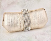Evening purse Bridal clutch bridal purse Rhinestone clutch rhinestone bag