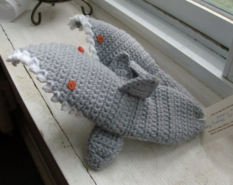 Slippers, Sharks, Made to Order, All sizes available