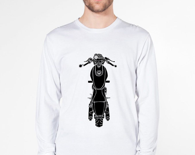 KillerBeeMoto: Limited Release Italian Engineered 1990's Cafe Racer Short & Long Sleeve Motorcycle Shirts