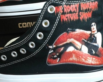 Rocky Horror Picture Show Custom Converse All Stars