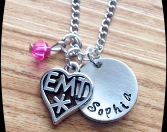 EMT Gift Jewelry, Emergency medical technician, EMT jewelry, Emt  Graduation, Emt Wife, Medical Jewelry, Gift, Necklace