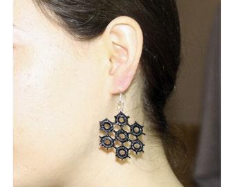 Earrings Snowflake