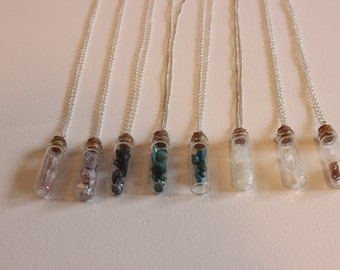Bottled Crystal Necklace