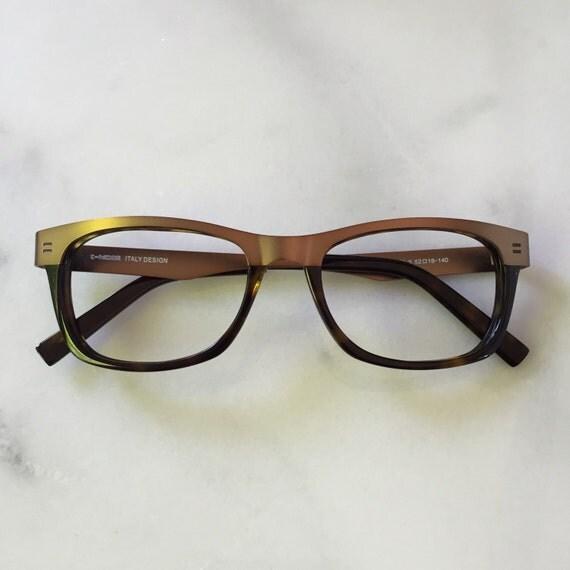 Half Frame Tortoise Shell Reading Glasses : Bronze metal wayfarer reading glasses and eyeglasses Bronze