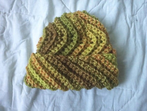 Crochet pattern pdf hope s hat stretchy zigzag