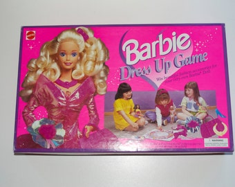 Barbie Dress Up Board Game 1995 Mattel - Complete!