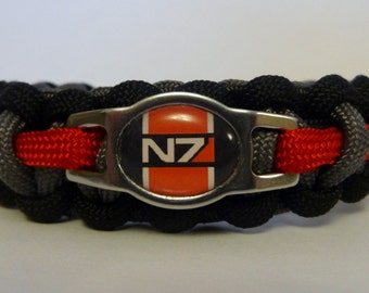 Mass Effect N7 Paracord Bracelet