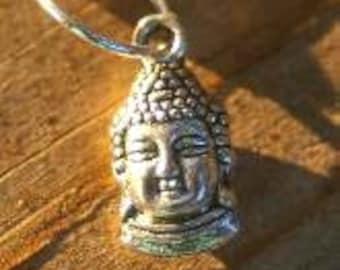 Tea Ball with Tiny Buddha Charm - Tea, Tea Ball, Herbal Tea, Ohm, Yoga, Zen