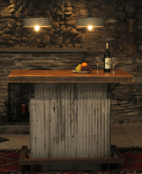 Hand Made Reclaimed Rustic Kitchen Island Bar ON SALE!!!