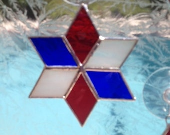 America's Star in Stained Glass